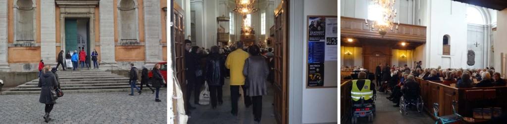 Familjen Altefur fyllde Fredrikskyrkan