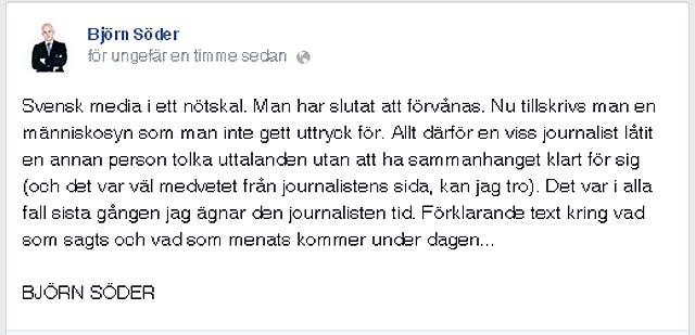 Desperation i gammelmedierna när Sverigedemokraterna växer så det knakar