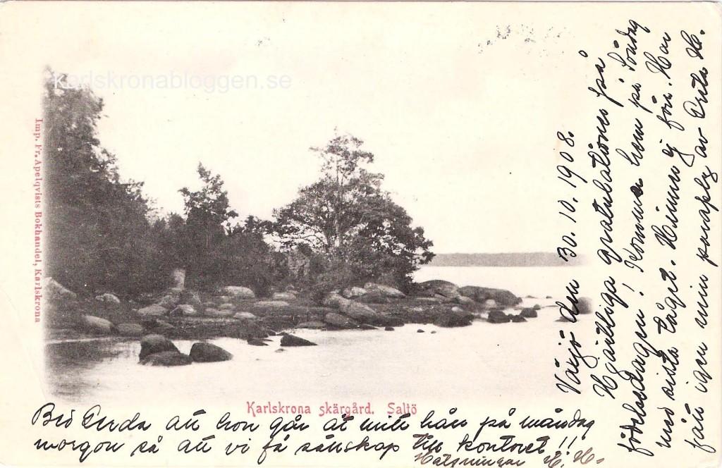 Karlskrona Skärgård. Saltö.