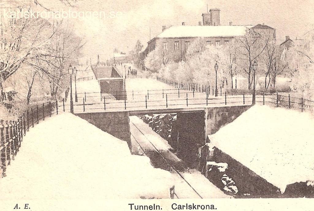 Vintermotiv från Tunneln