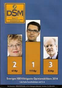 Jimmie Åkesson var Sveriges viktigaste opinionsbildare 2014