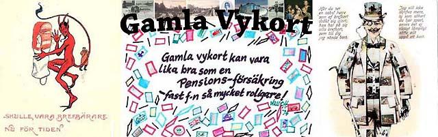 Gamla Vykort på Facebook