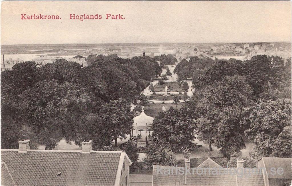 Udda från Hoglands park