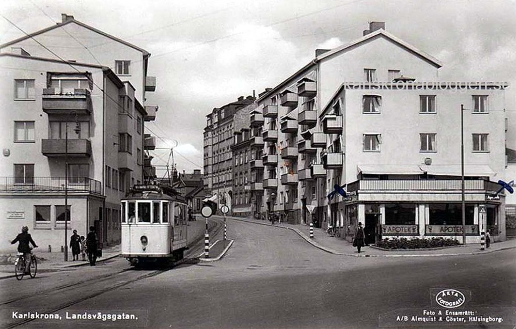 Spårvagn på Pantarholmen
