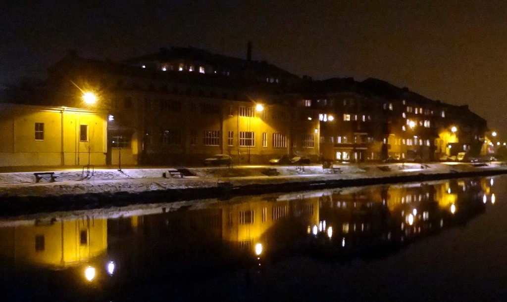 Pantarholmen by night