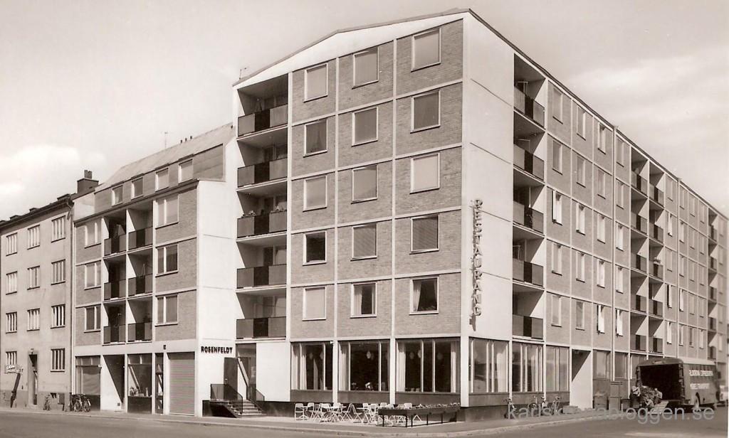 Restaurang Rosenfeldt 1960