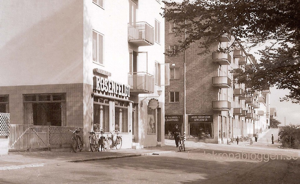 Alamedan på 1940-talet