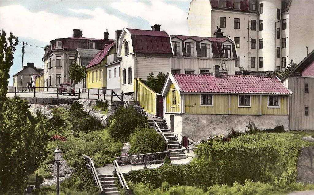 Trappan till Björkholmen