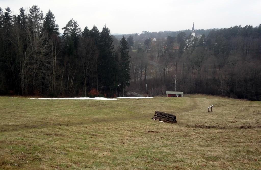 Snöfritt i Rödebybacken