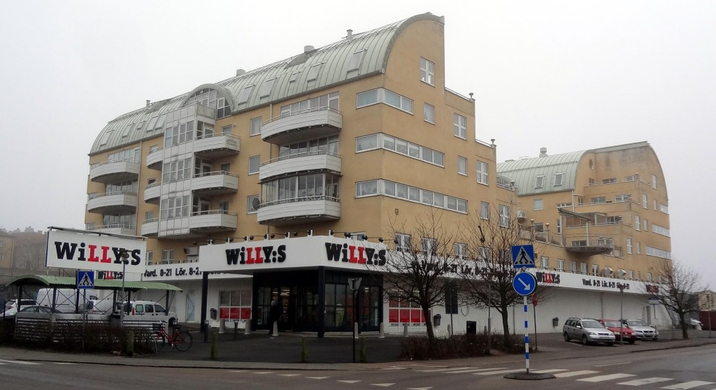Nya Willys på Pantarholmen