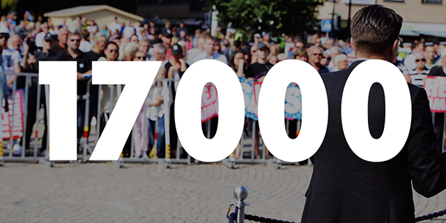 Grattis till 17000 medlemmar