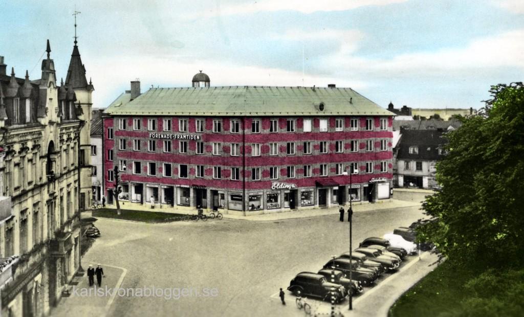 Militärhemmet invigdes den 8 maj 1953