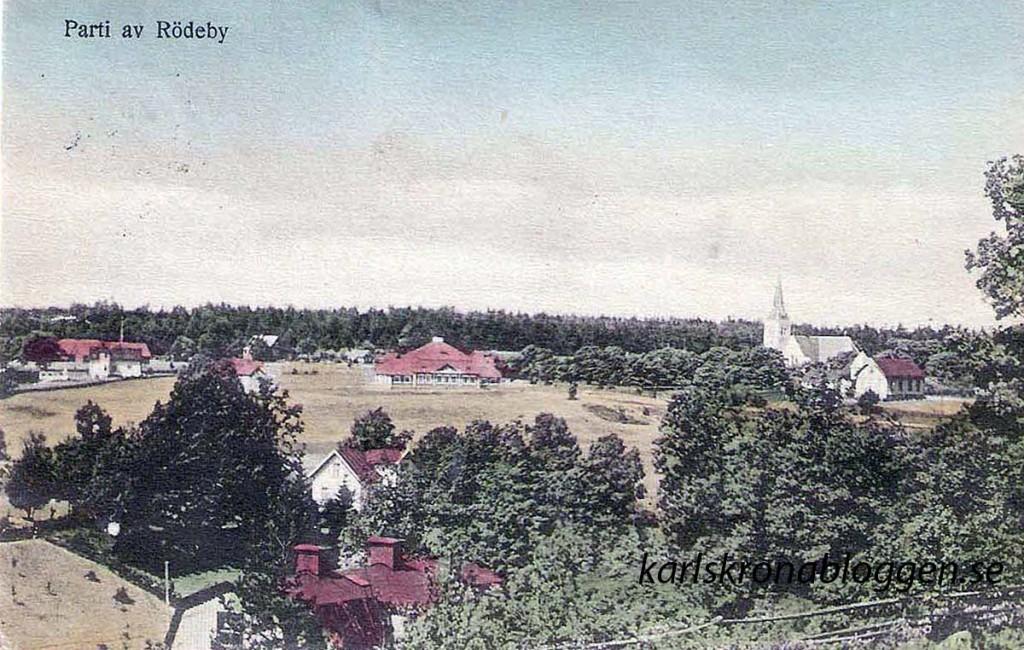 Rödeby på 1920-talet