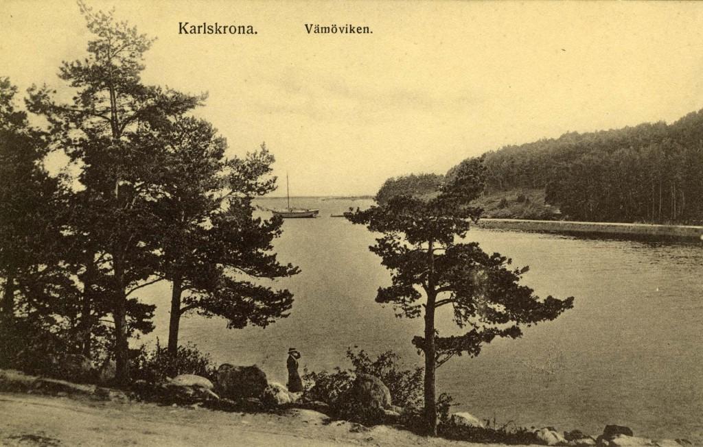 Vämöviken på 1910-talet