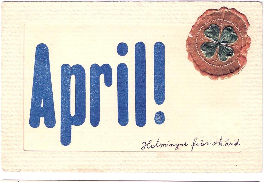 1 april och ny månad