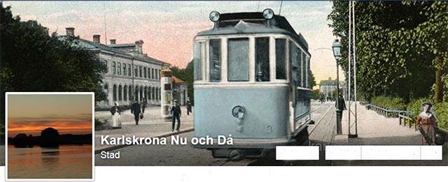 """""""Karlskrona Nu och Då"""""""