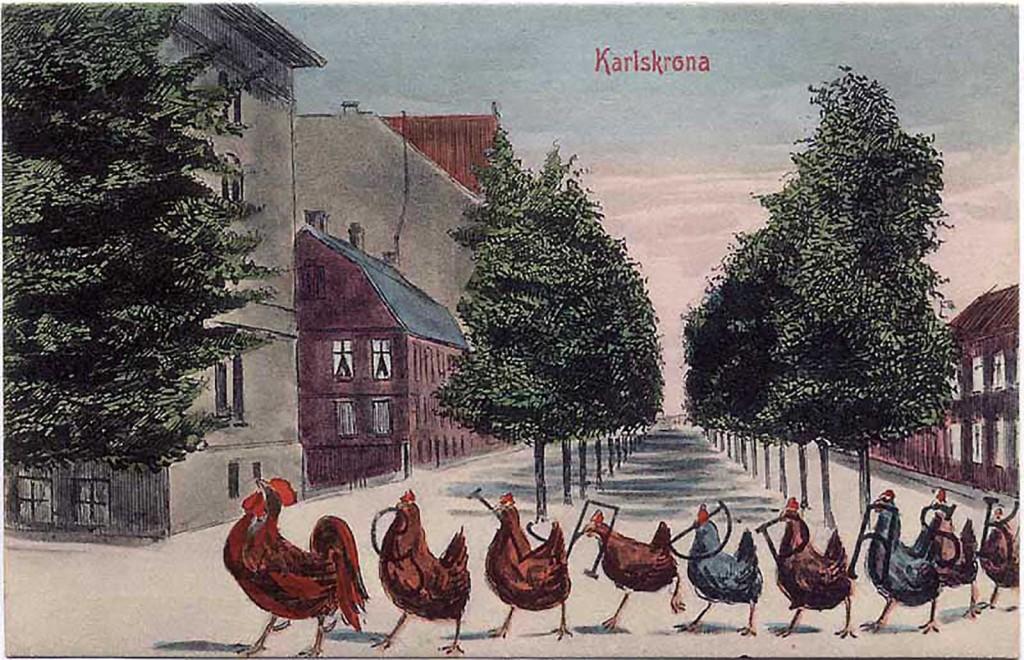 Glad Påsk från Karlskrona