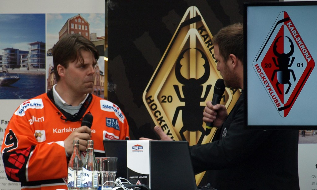 Ove Molin presenteras som ny assisterande tränare i Karlskrona HK