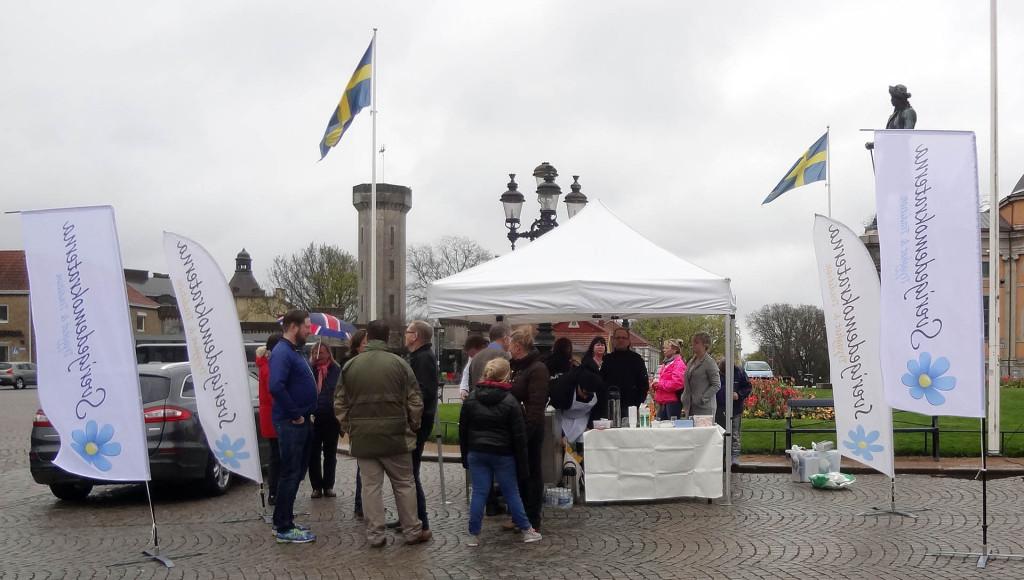 Sverigedemokraterna Karlskrona den 1 maj 2015