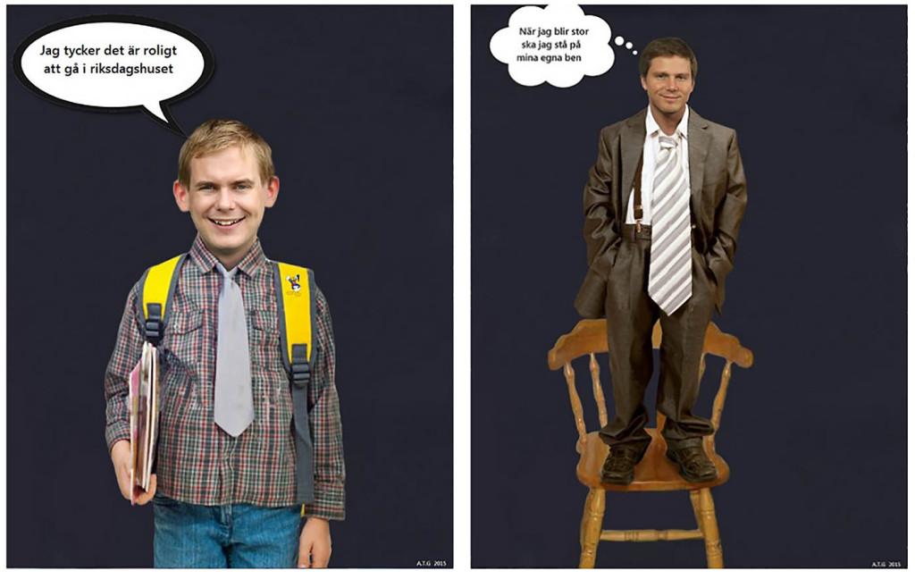 Gustav Fridolin (MP) och Erik Ullenhag (FP)