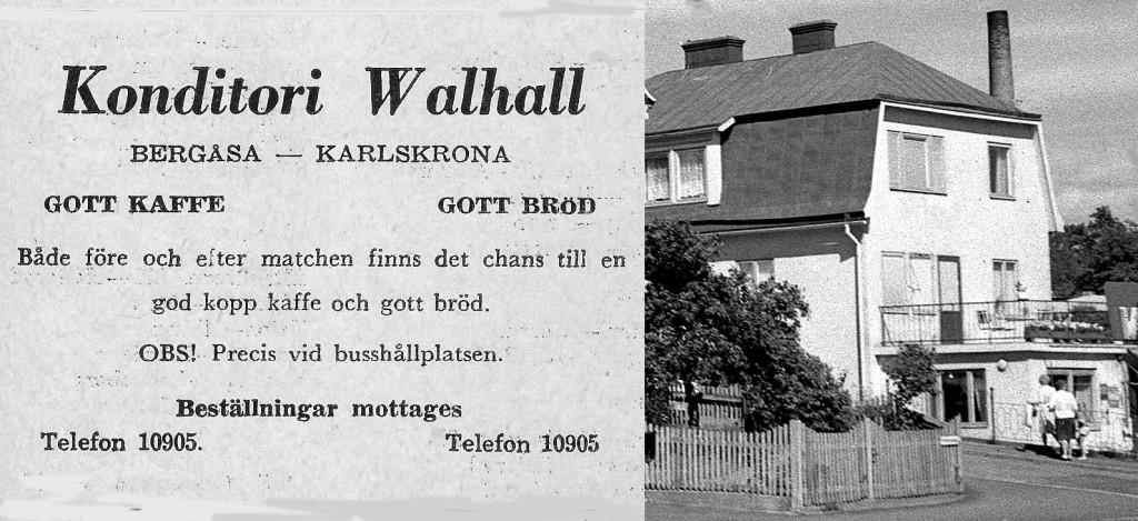 Konditori Walhall - Bergåsa