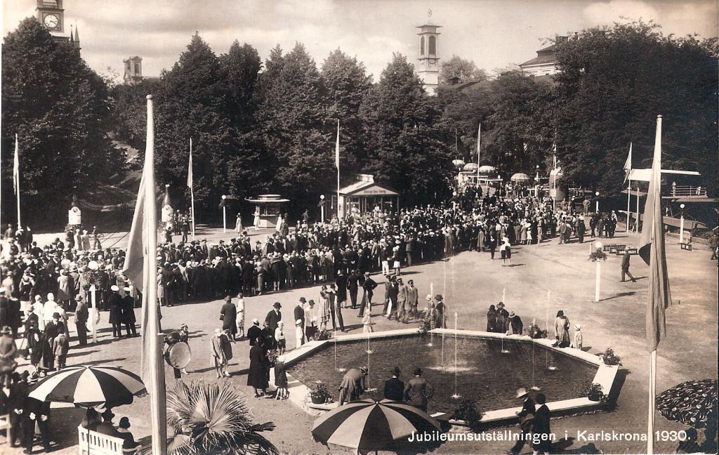 Invigning av Karlskronautställningen 1930