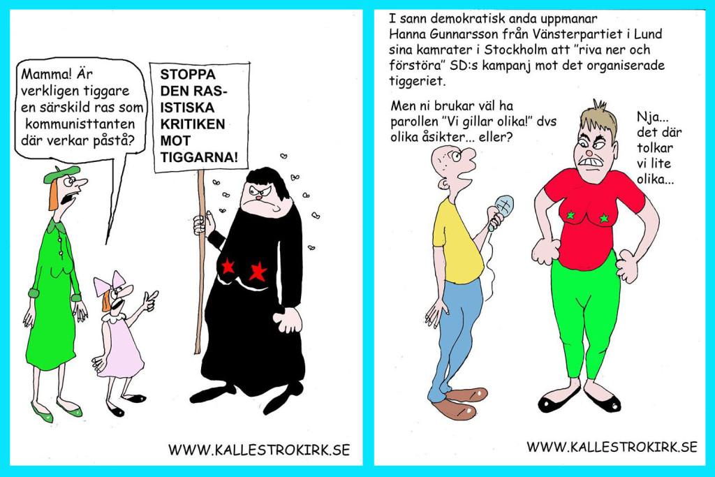 Kalle Strokirk om tiggeriannonserna