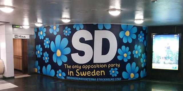 SD ber om ursäkt till turister i ny kampanj