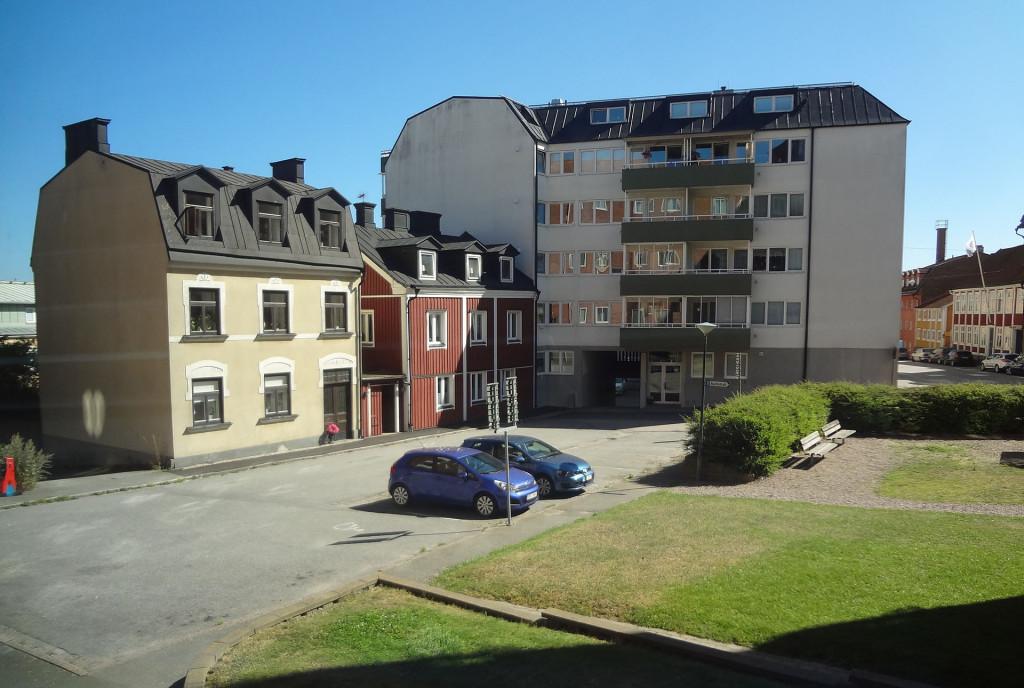 Parkering i Norra Möllebacksgränd
