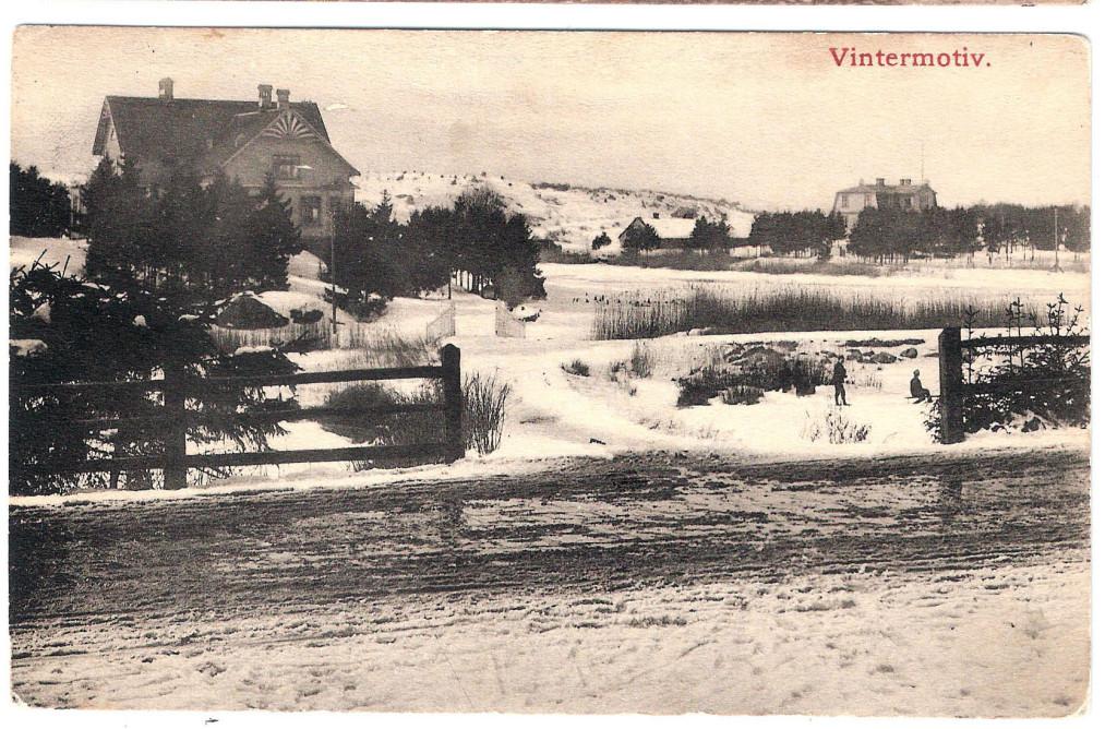 """""""Vintermotiv"""" från år 1916"""