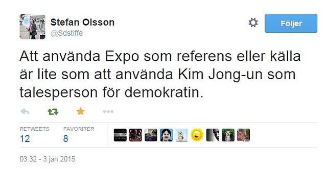 Att använda EXPO som källa...