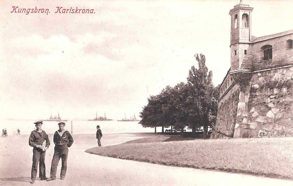 Kungsbron med sjömän