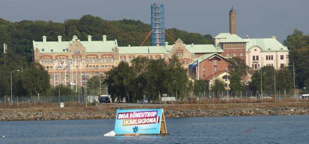 Minaret med böneutrop ökar segregationen i Karlskrona