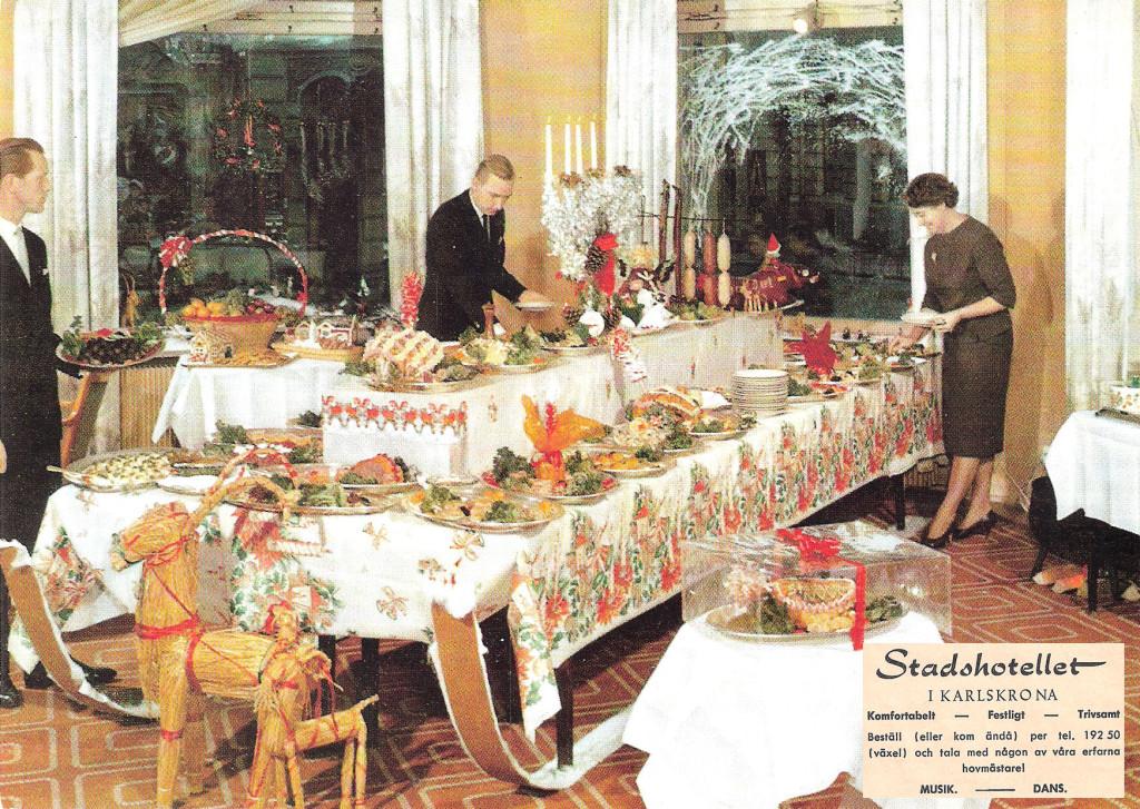 Julbord på Stadshotellet