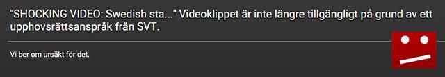 """""""Oberoende"""" svensk SVT"""