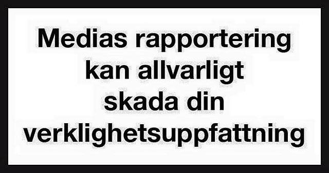 Varning för svensk media