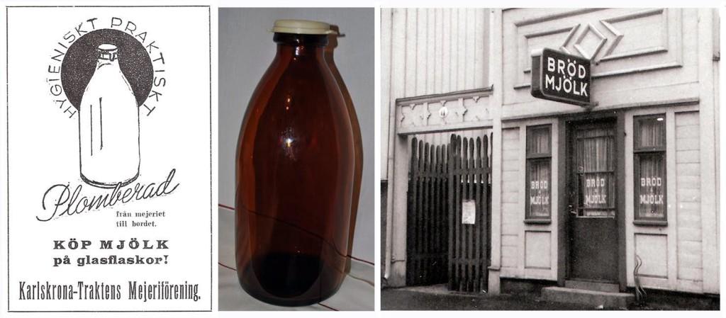 Minns ni mjölkflaskorna och Idas affär?