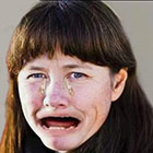Åsa Romson gråter över Miljöpartiets siffror