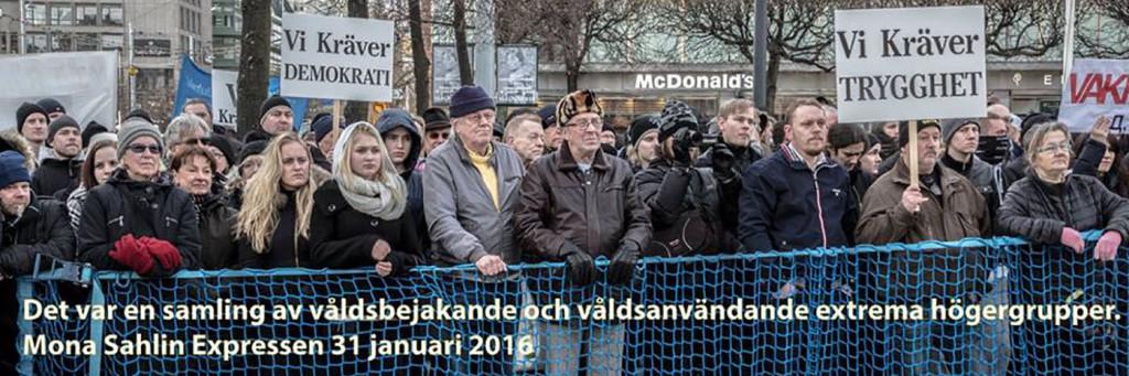 "Om ""Folkets demonstration"" igen"