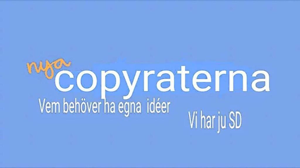 """Nya Copyraterna"" i farten"