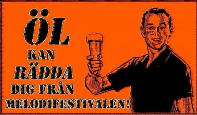 Räddad från Melodifestivalen!