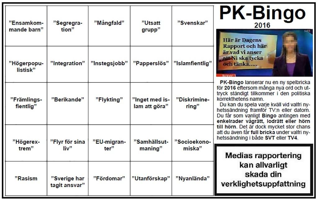 Ny bricka för PK-Bingo 2016