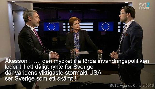 """""""Sverige"""" är ett skämt i USA"""