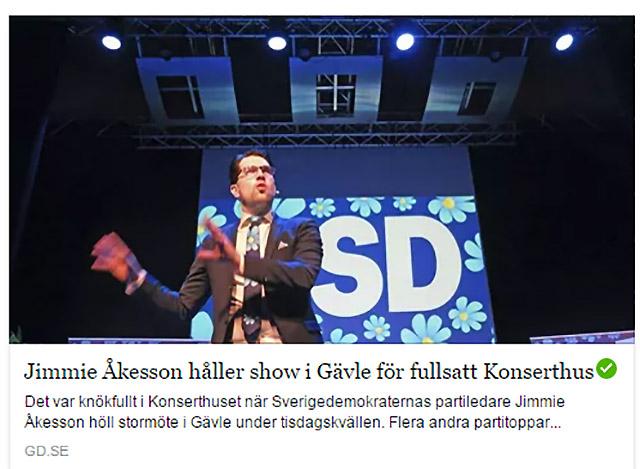"""Jimmie Åkesson Show"""