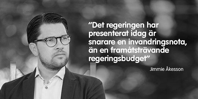 "Jimmie om ""vårbudgeten""!"