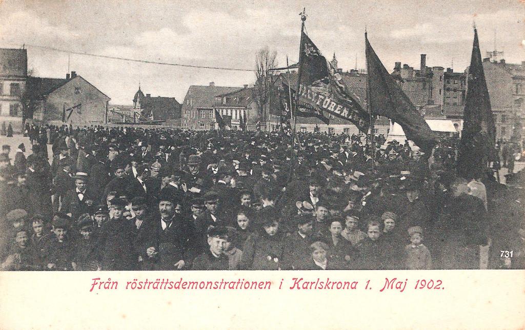 Demonstration 1 maj 1902