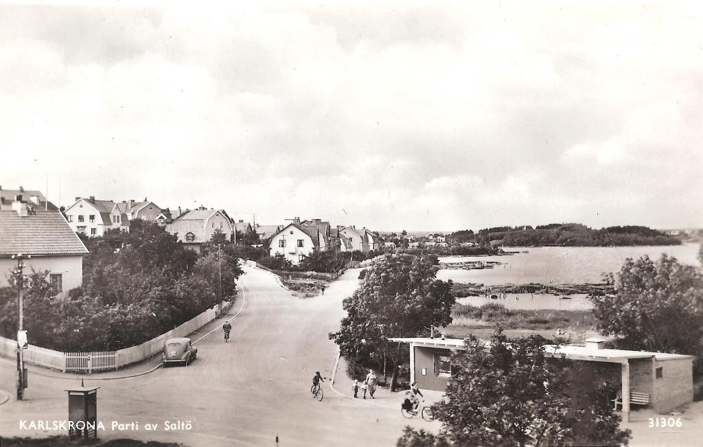 Saltö omkring 1950