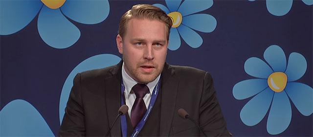 Mattias Karlsson på söndag