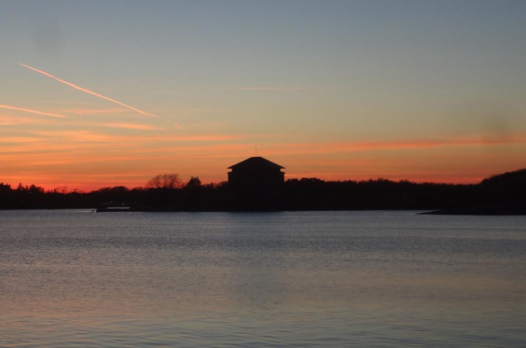 Underbar solnedgång 7 maj