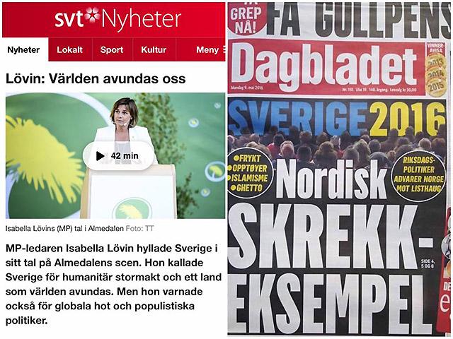 Skräckexemplet Sverige